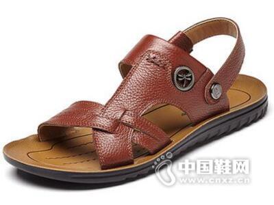 红蜻蜓2016夏季新款休闲舒适时尚流行沙滩鞋男鞋