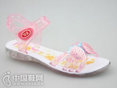 足运水晶凉拖鞋新款产品