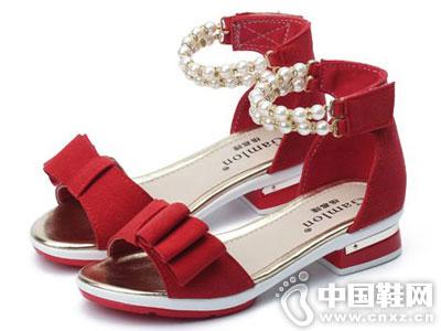 格慕隆女童公主凉鞋2016新款产品