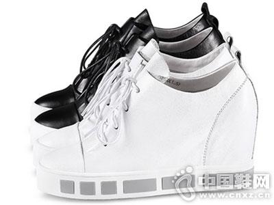 MILEER超级店2016新款坡跟单鞋