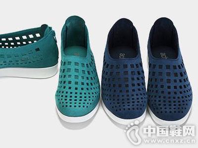 achette雅氏2016新款真皮中空单鞋