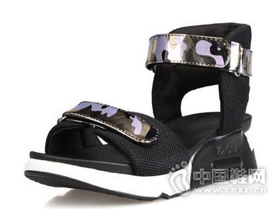 米薇卡2016欧美厚底松糕凉鞋