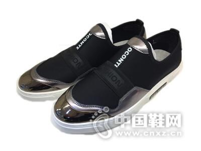 跳跳鱼2016真皮时尚休闲男鞋