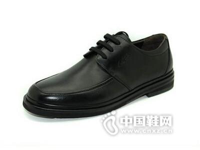 Agas/亚加斯英伦透气商务正装休闲皮鞋