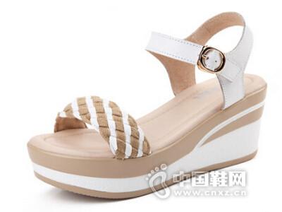 ZHR2016夏季新款韩版女凉鞋坡跟女鞋