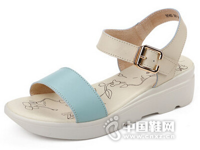 ZHR2016夏季新款平底真皮凉鞋韩版