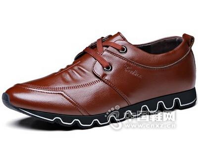 卡奇奥蒂2016韩版潮鞋青年系带运动鞋