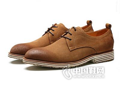 奥斯曼佰莱2016英伦风复古正装皮鞋