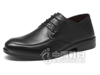 老人头2016商务休闲皮鞋