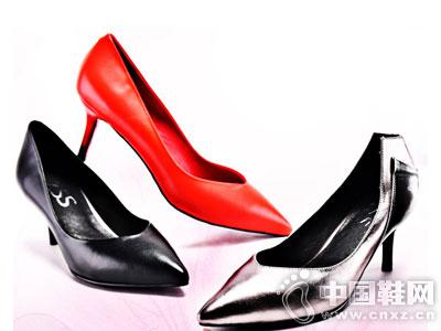 路尚女鞋2016秋季新款高跟单鞋
