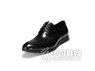 朗蒂维2016正装皮鞋男黑色商务鞋