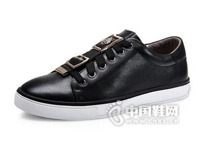 吉普森2016韩版板鞋真皮鞋