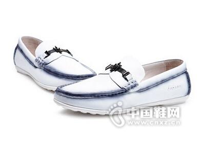 吉普森2016韩版懒人鞋青年真皮鞋