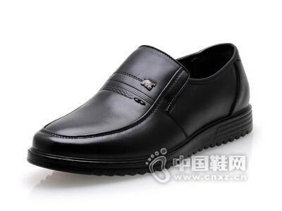 百牛圆2016休闲商务真皮软底鞋