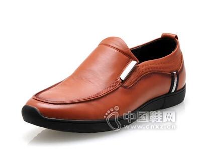 百牛圆2016真皮低帮休闲男鞋