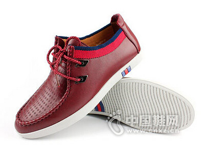 麦高2016时尚休闲透气皮鞋