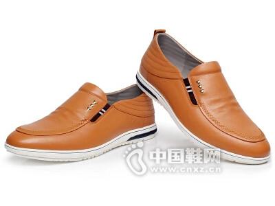 荣派2016韩版休闲皮鞋