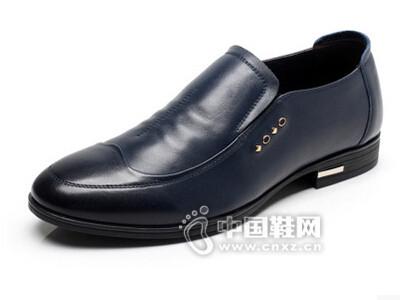 荣派2016商务皮鞋软底驾车鞋懒人单鞋