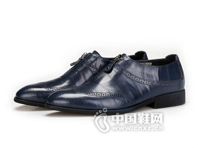 AAA2016拉链复古做旧色条纹牛津鞋花边单鞋