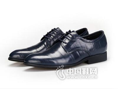 AAA2016正装商务办公系带单鞋