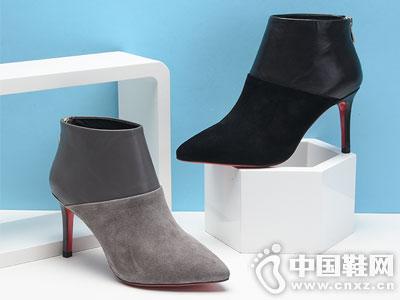 麦露迪女鞋2016秋冬新款短靴