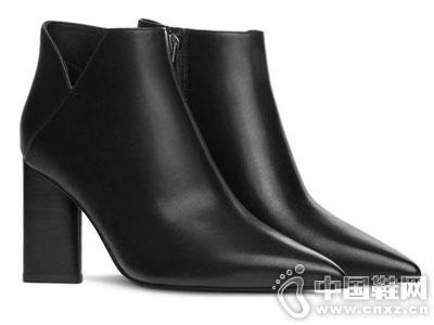 烫社交女鞋2016秋季新款短靴