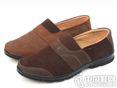 步鑫源老北京布鞋2016新款男单鞋休闲