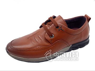 恒安利2016商务休闲皮鞋