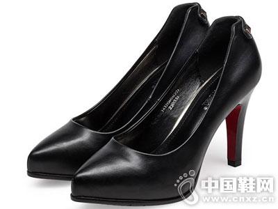 依思Q女鞋2016秋季新款高跟单鞋