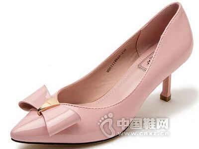 巨圣2016蝴蝶结浅口单鞋