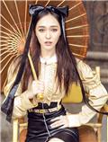 唐嫣登时尚杂志封面 中西混搭风格张力十足