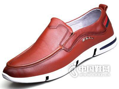 美国犀牛2017软皮休闲鞋