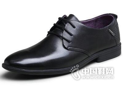 美国犀牛2017男士韩版商务正装皮鞋