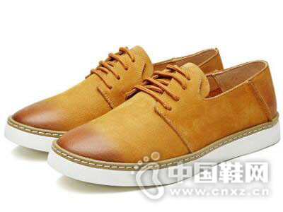VOLO/犀牛2017真皮浅口平跟女单鞋