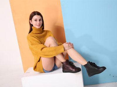 木林森2017秋冬休闲女鞋