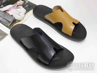 世尊2018男鞋凉鞋新款产品
