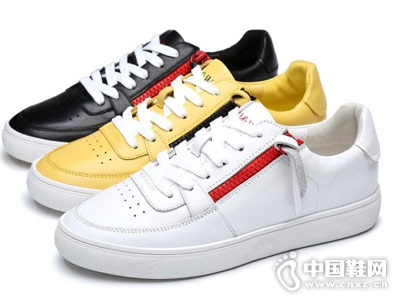 世尊2018男鞋新款休闲板鞋产品