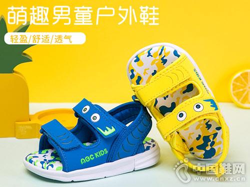 ABC童鞋2018新款男童凉鞋产品