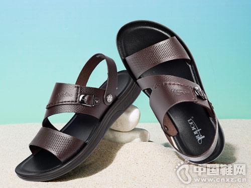 金猴男女皮鞋2018新款男凉鞋产品