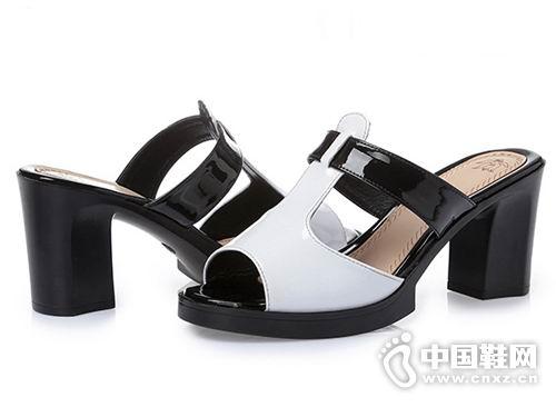 台湾红蜻蜓2018女鞋新款凉鞋产品
