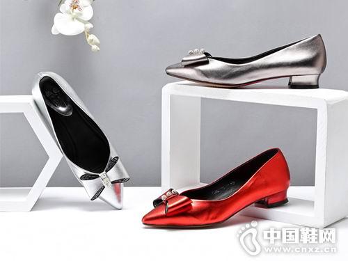 欧意2018女鞋新款平底单鞋