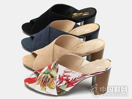 爱柔仕Aerosoles女鞋2018女鞋高跟拖鞋