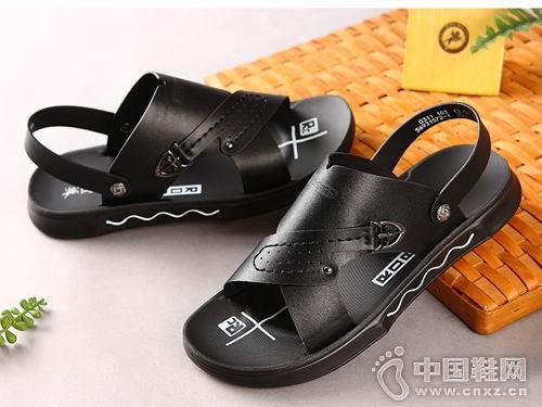 保罗盖帝休闲鞋2018新款休闲凉鞋