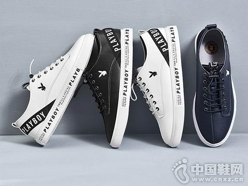2018花花公子男鞋新款休闲板鞋