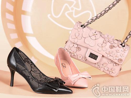 圣恩熙女鞋2018新款时装高跟鞋