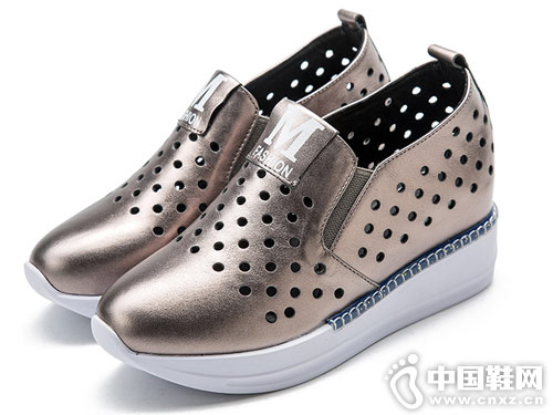 吉尔达鞋2018新款女厚底单鞋
