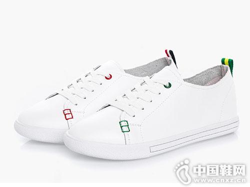 皇妹女鞋2018春季新款小白鞋