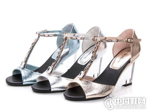 皇妹女鞋2018夏季新款凉鞋