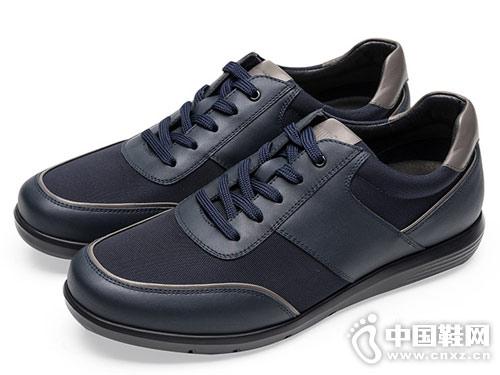 莱尔斯丹男鞋2018休闲鞋