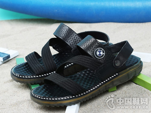 啄木鸟男鞋2018新款凉鞋新品